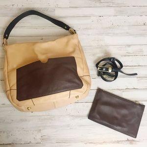 Oryany   Adele Color Block Wallet & Hobo Bag